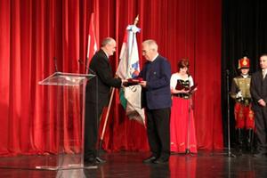 Ehrenbürgerwürde Ozd für Max Aicher