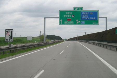 Autópálya, Csehország